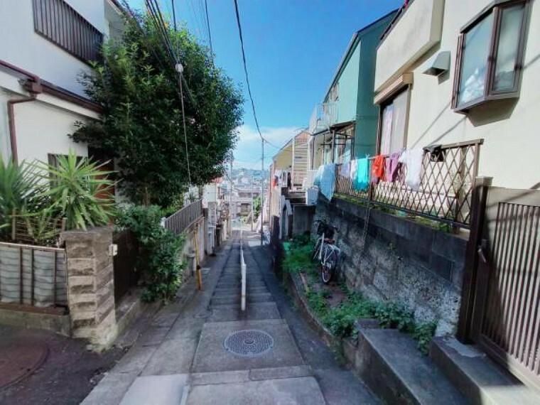 現況写真 現地外観写真、閑静な住宅地です