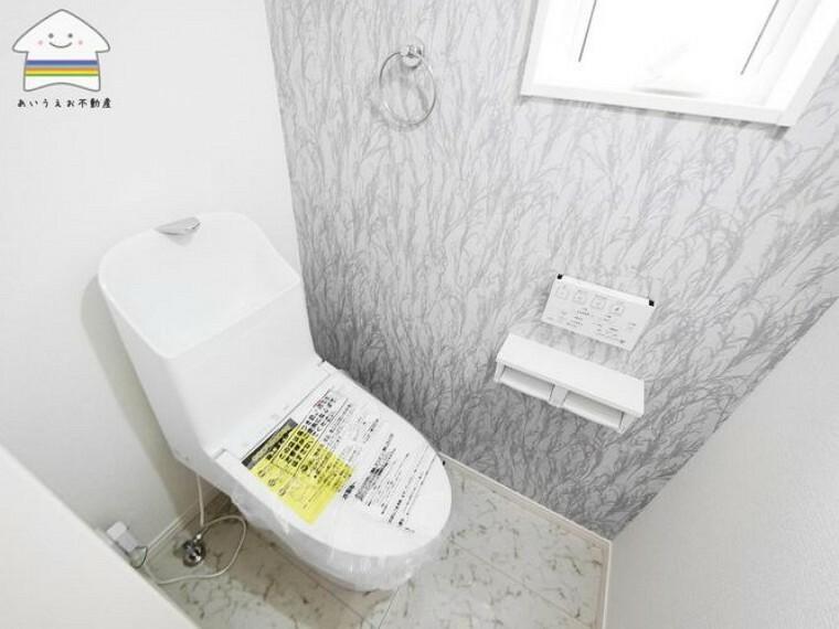 トイレ 1Fトイレ。ウォシュレット付き