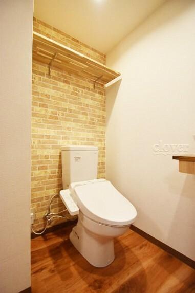 トイレ トイレ 温水洗浄便座付き 上部棚付き