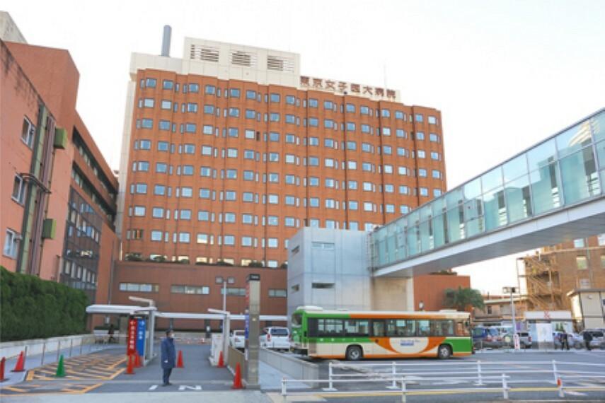 病院 【総合病院】東京女子医科大学病院まで537m