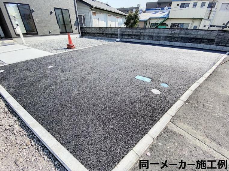駐車場 施工例
