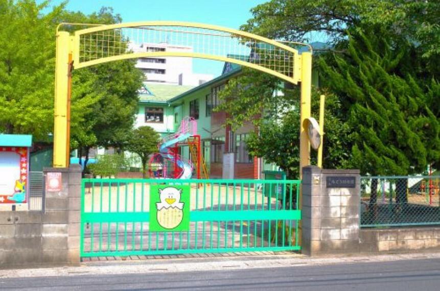 幼稚園・保育園 【幼稚園】草加みどり幼稚園まで750m