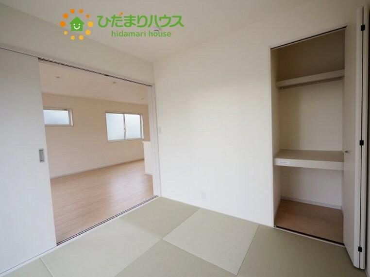 和室 琉球風畳でお洒落な和室(^^)/