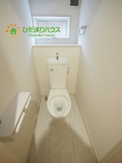 トイレ 温水洗浄便座ついてます(^^