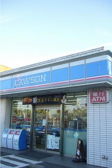 コンビニ ローソン緑区曽根店