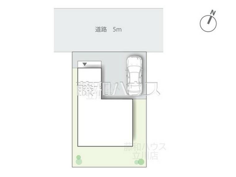 区画図 区画図 【昭島市松原町5丁目】