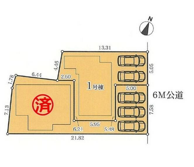 区画図 全体区画図 【名古屋市緑区平子が丘】