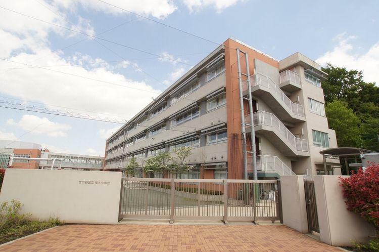 中学校 世田谷区立桜木中学校 徒歩8分。