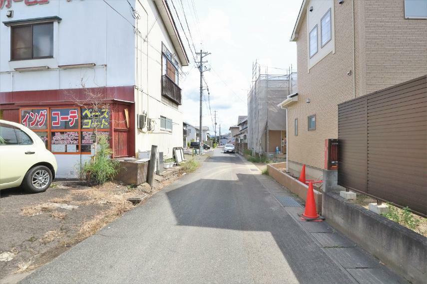 現況外観写真 【前面道路】北側幅員約4.0m公道