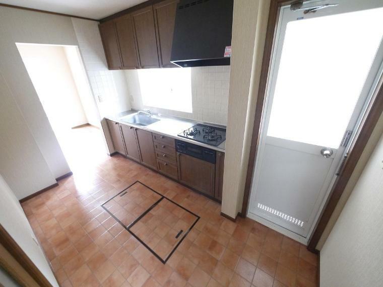 キッチン ゆったりとしたキッチンスペース
