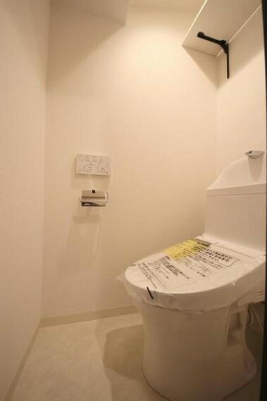トイレ ウォシュレット付きトイレでいつでも清潔、快適