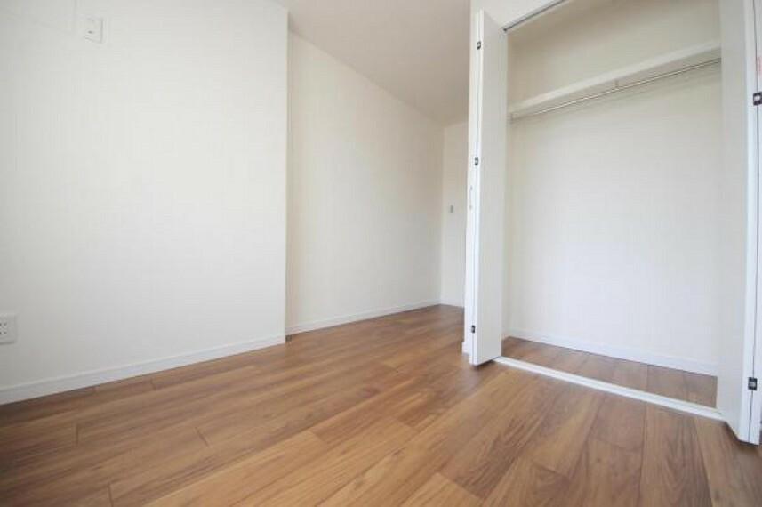 全室クローゼット付き、お部屋がスッキリ片付きます