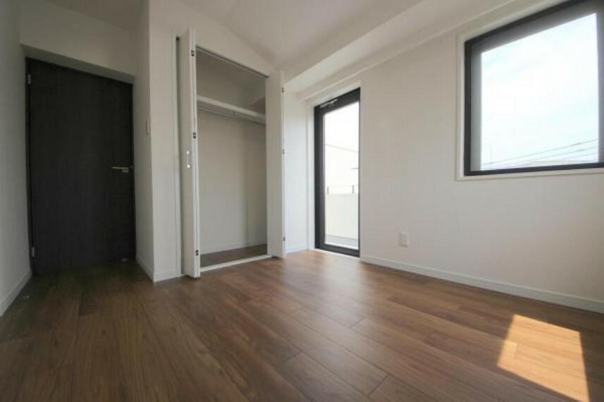 全室クローゼット付き、お部屋が広く使えます