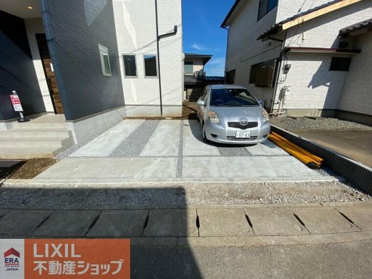 駐車場 ゆったりとした駐車スペースになります。 実際のお車の車種とあわせましてご確認ください。