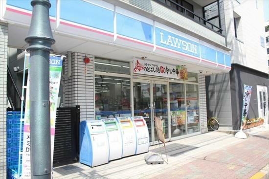 コンビニ ローソン 京成小岩南口店