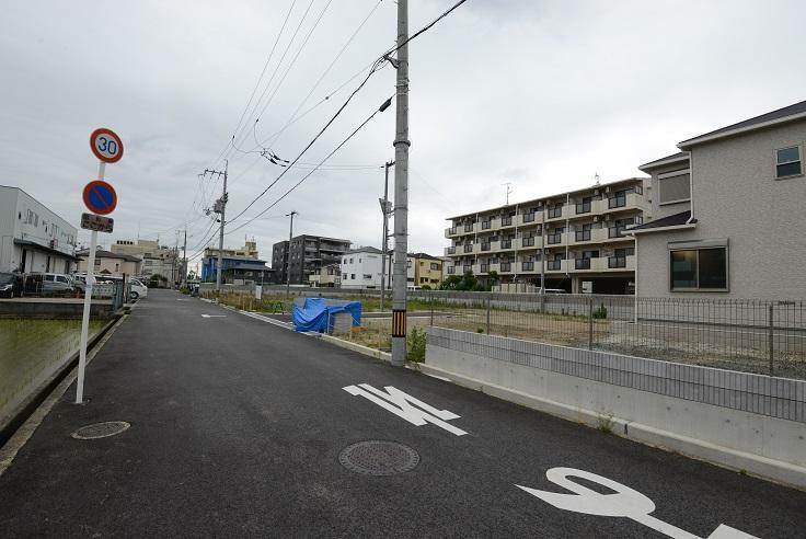 現況写真 前面道路含む現地写真(21年7月撮影)