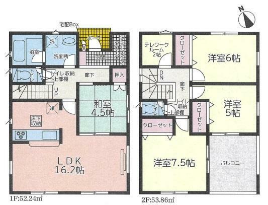 間取り図 4SLDK/建物面積106.1m2