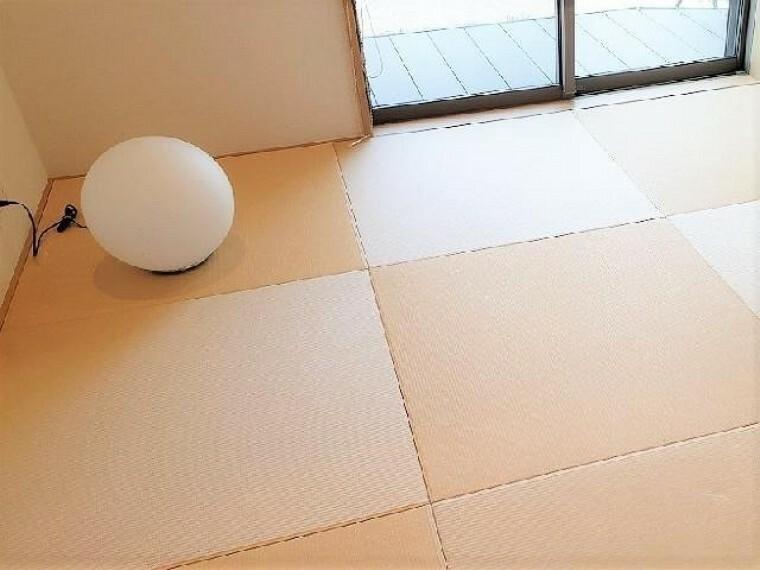 和室(同仕様施工例)・・・琉球風畳になっていますので、お洒落ですよ!