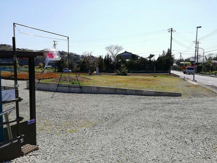 現況写真 居宅・居宅兼事務所向きの土地です