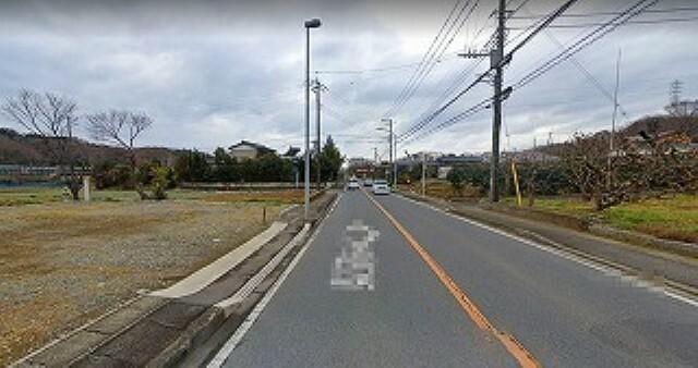 現況写真 前面道路は、相模原・大磯線です。
