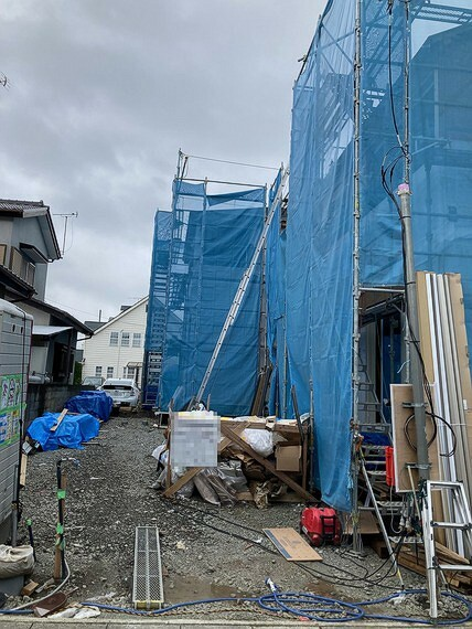 現況外観写真 小田原市中里の新築分譲住宅全2棟のご案内