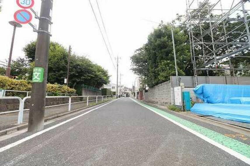 現況写真 前面道路含む現地写真