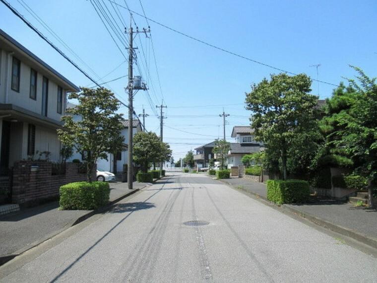 現況写真 南東側より前面南12m道路撮影