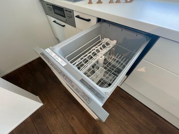 キッチン 家事の時短に食洗機付