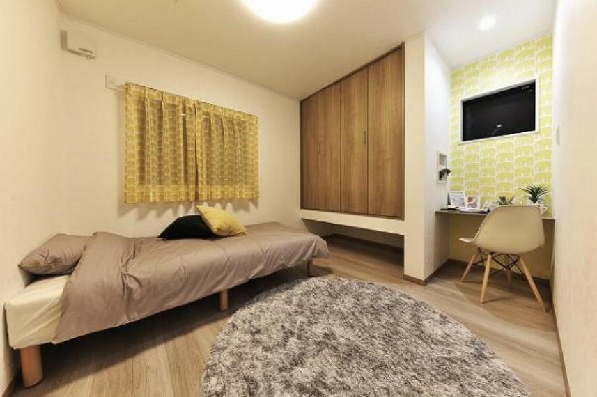 子供部屋や寝室にぴったりの洋室