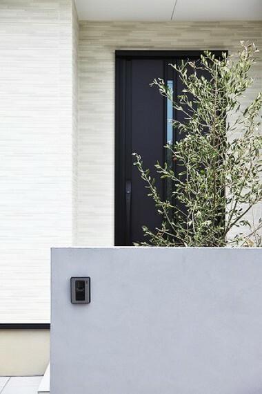 玄関 スッキリしたデザインの玄関