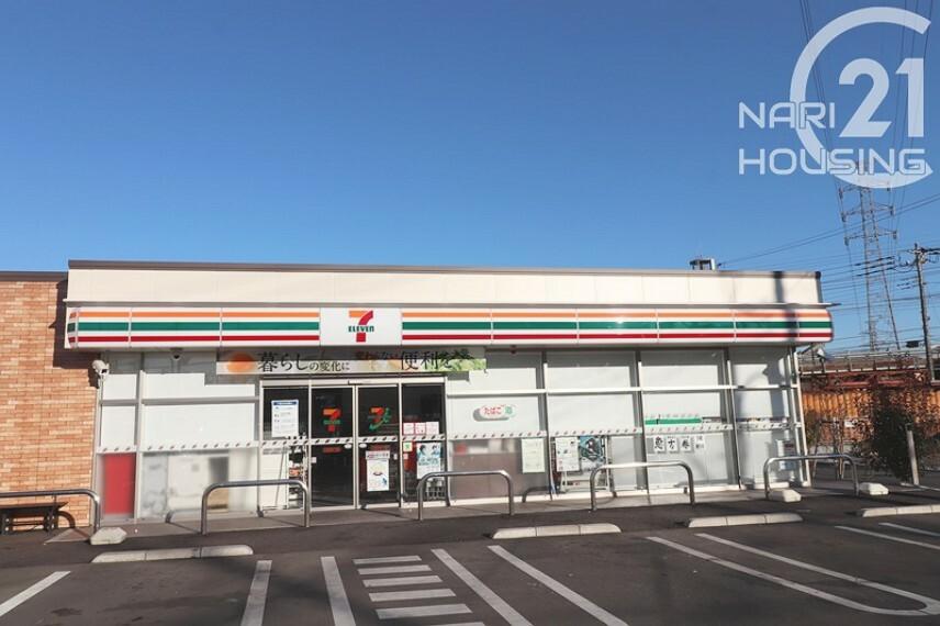 コンビニ 【コンビニエンスストア】セブンイレブン 立川富士見町7丁目店まで319m