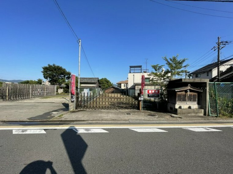 現況写真 前面道路含む現地(令和3年7月撮影)
