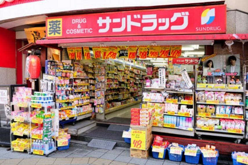 ドラッグストア 【ドラッグストア】サンドラッグ 浅草橋店まで340m