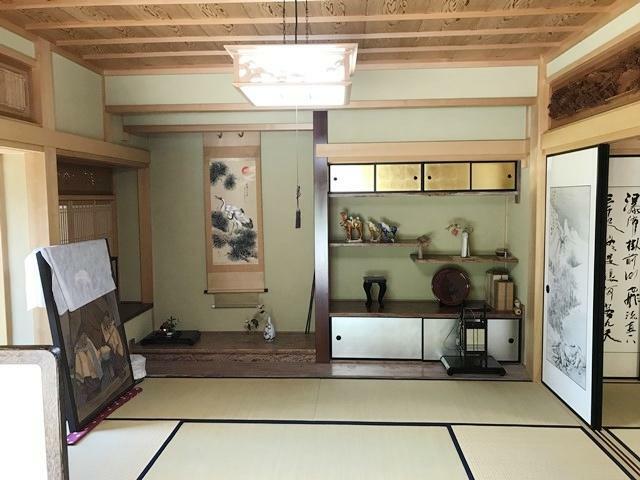 和室 8帖(床の間)