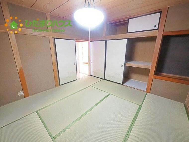 和室 大容量の収納もあります!