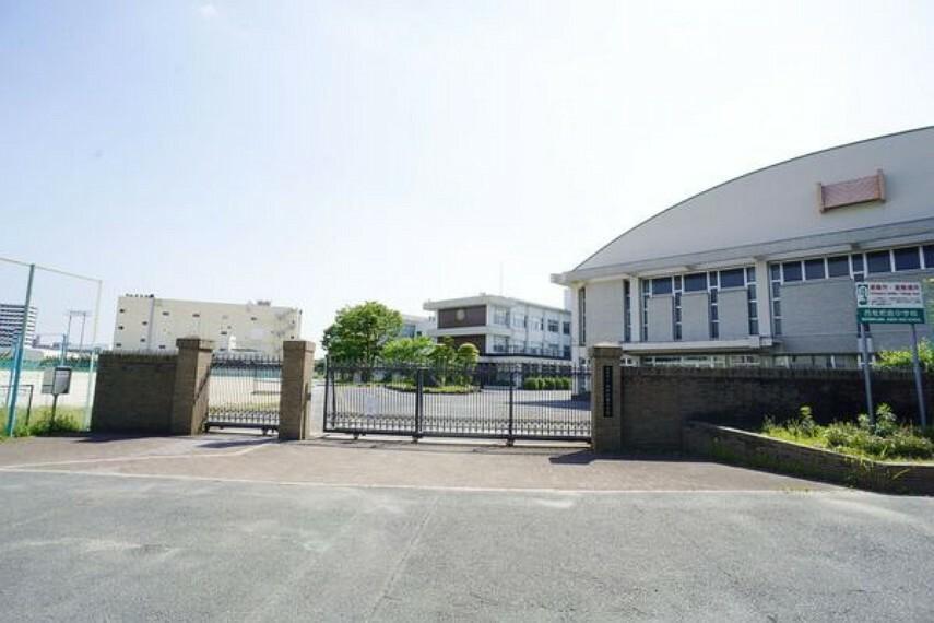 中学校 西枇杷島中学校 西枇杷島中学校まで1400m(徒歩約18分)