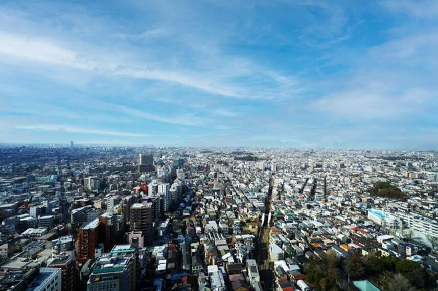 外観・現況 キャロットタワー(三軒茶屋)から望む現地周辺