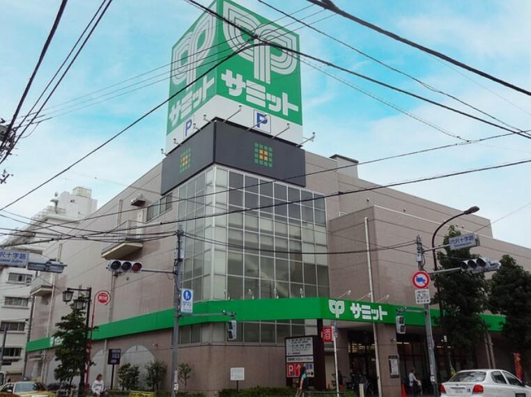 スーパー サミットストア 代沢十字路店