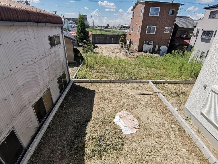 庭 お庭スペースが魅力的!家庭菜園もボール遊びも自由の幅が広がりそうです