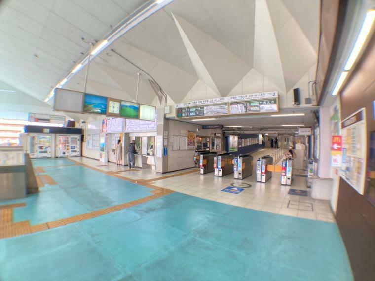 最寄り駅 (撮影日時2021年8月2日)