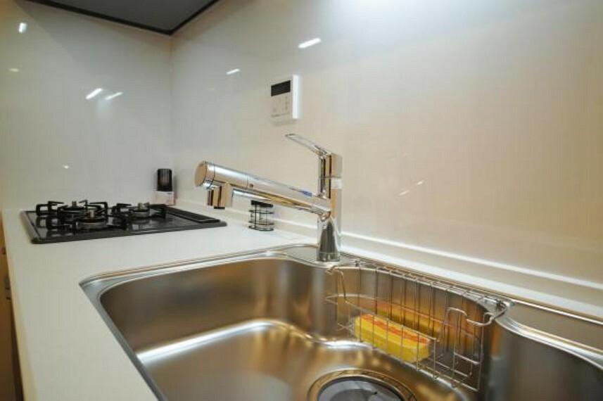 キッチン 浄水器一体型水栓