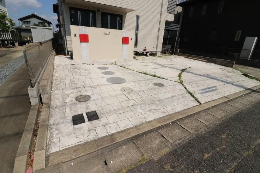 駐車場 3台分の駐車が可能です。