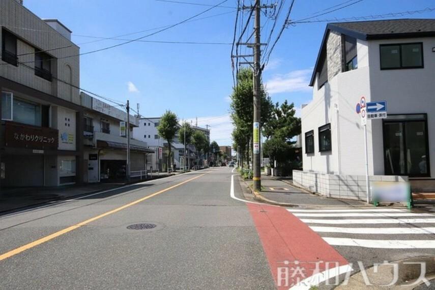 現況写真 接道状況および現場風景 【名古屋市南区中割町1丁目】