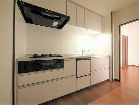 キッチン 新品に交換済みのシステムキッチン