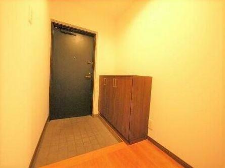 玄関 シューズボックス付きの玄関