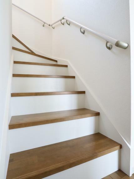 【3号棟】手すり付き階段