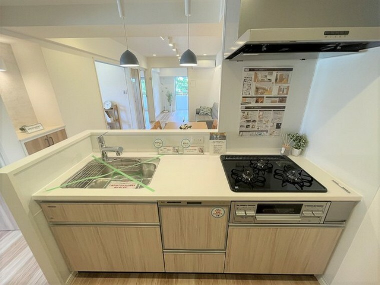 キッチン キッチンの性能が上がれば、いつものお料理も楽しくなりますね。