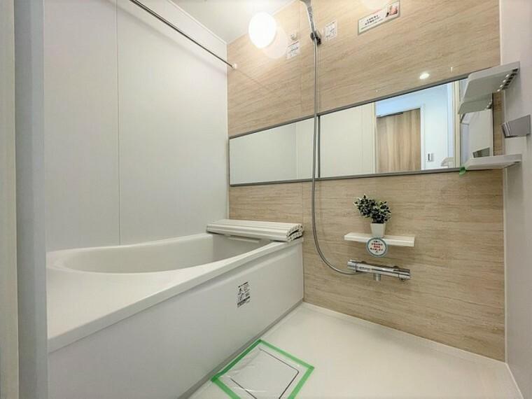 浴室 ユニットバスも新規交換。キレイなお風呂で疲れをリフレッシュ。