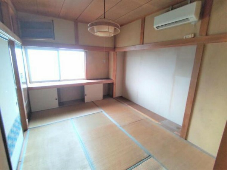 【リフォーム中】1階北西側和室は6帖の洋室に間取り変更します。天井壁クロス張替え、床はフローリング張替えをします。