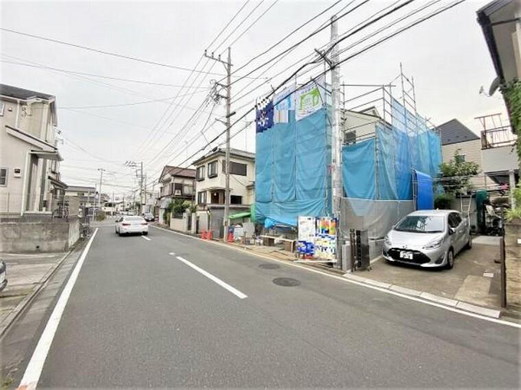 現況写真 高座渋谷駅徒歩13分の立地です。南西側庭の為陽当たり良好です。